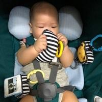 奇哥 寶寶視覺推車吊掛玩具 開箱體驗