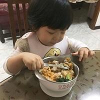 {{育兒}}寶寶用餐的好朋友-奇哥抗菌不鏽鋼點心餐具四件組