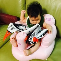 Bo妞開箱初體驗-寶寶認知學習布書床圍