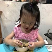 奇哥抗菌不鏽鋼學習碗-小葵