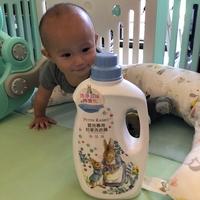 天然溫和又清潔─新升級比得兔嬰兒抗菌洗衣精