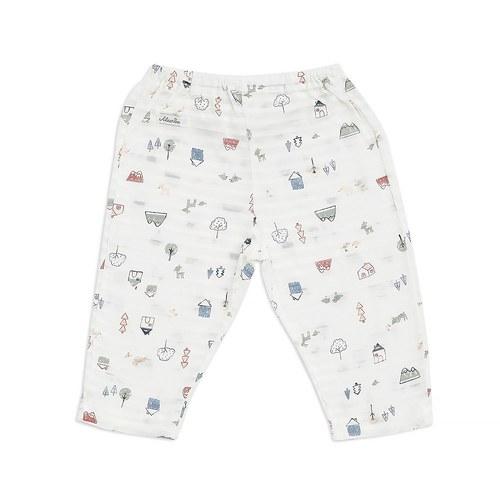 童話小屋嬰兒長褲(天絲棉)