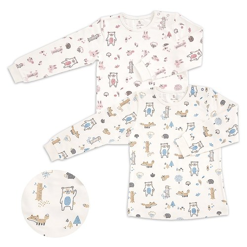 叢林家族側開衫(高效蓄熱恆溫布)