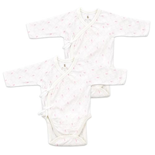 掌心系列兩段調節式內衣兔裝-2入(早產兒專用)