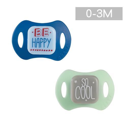安撫奶嘴2入組-拇指型(0-3M)