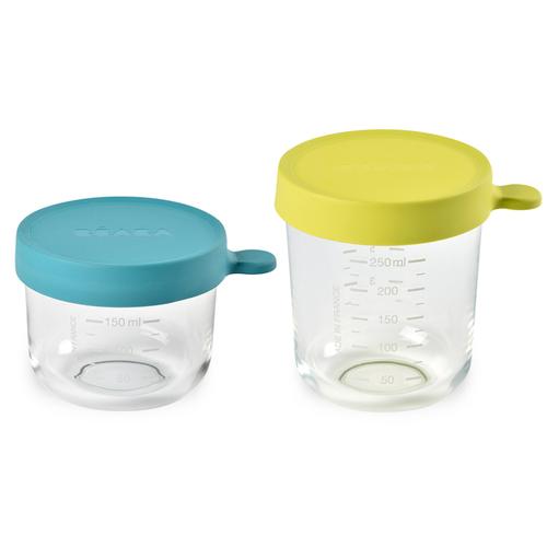 玻璃副食品儲存罐-2入組(150+250ml)