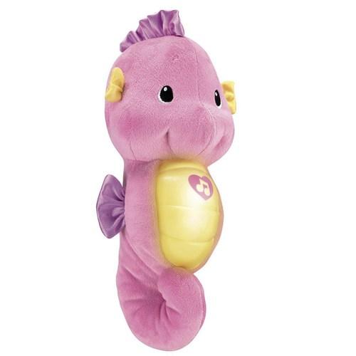 費雪聲光安撫小海馬-粉色