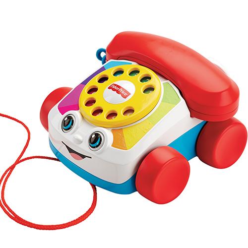 費雪經典可愛電話
