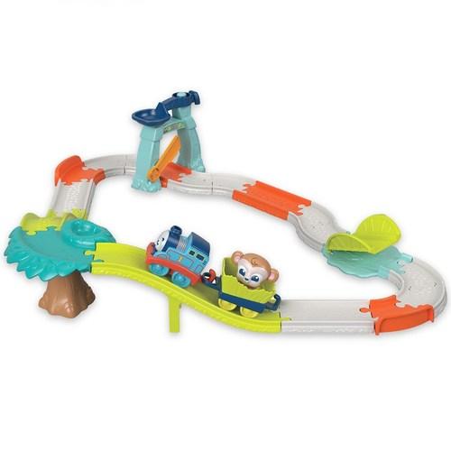 湯瑪士學習-趣味動物火車遊戲組