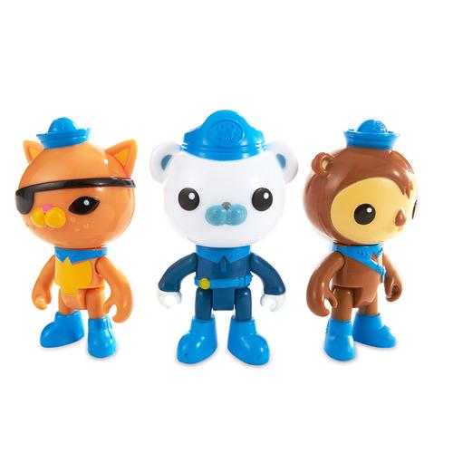 費雪海底小縱隊-探險隊員 8人套裝組