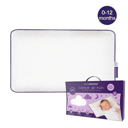 Cleva Foam® 護頭型嬰兒枕(0-12M適用)
