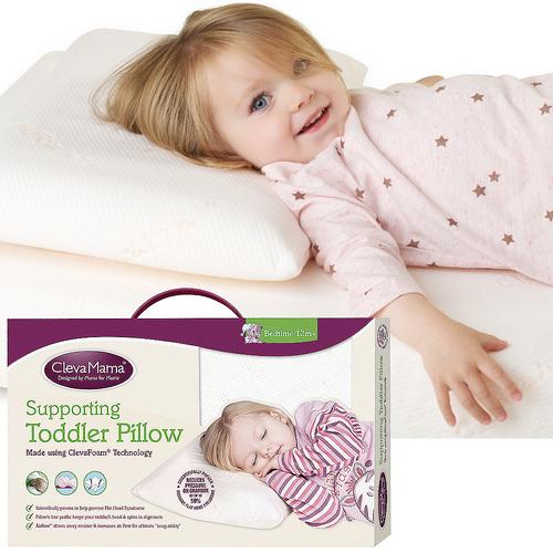 Cleva Foam® 護頭型幼童枕