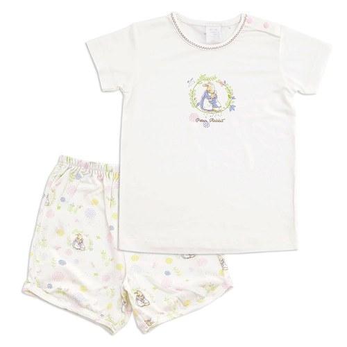 親子兔短袖套裝(水晶紗)