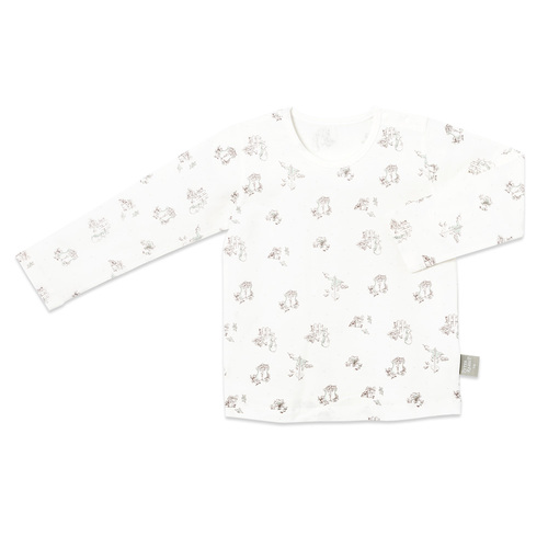 點點兔長袖側開衫(鋅纖維)