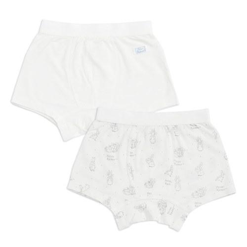 森林小兔男平口褲-2入(氧樂多牛奶纖維)