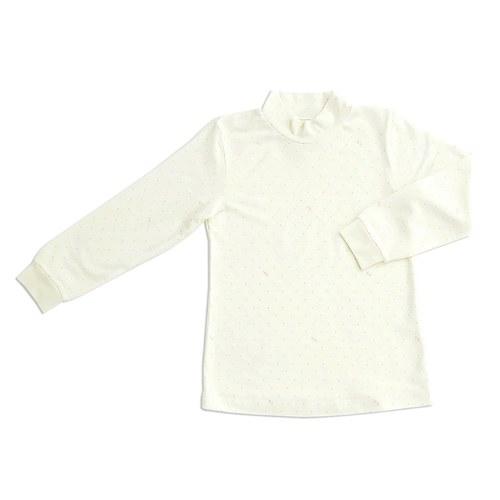 功能布印花高領衫(美膚保暖纖維)