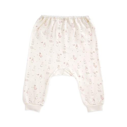 粉色愛心兔初生褲(遠紅外線柔暖纖維)