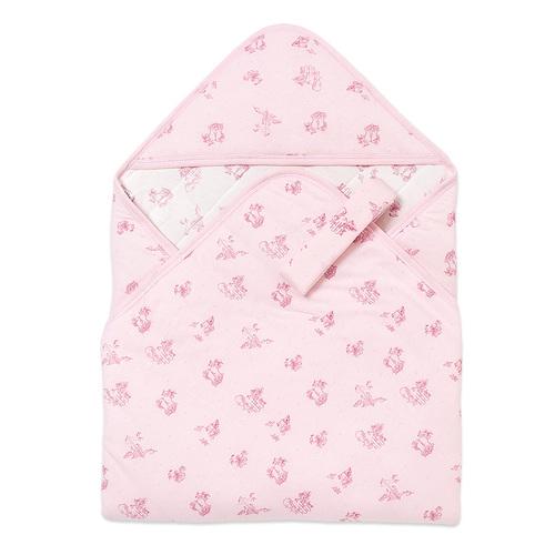 點點兔舖棉包巾