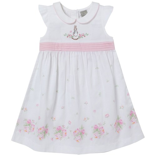 粉紅玫瑰洋裝