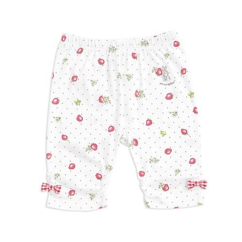 小草莓五分合身褲