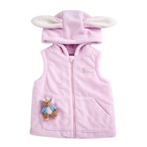 比得兔背心外套(裡布:羊毛保暖布)