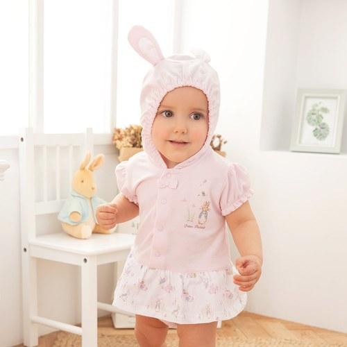 優雅比得洋裝式兔裝