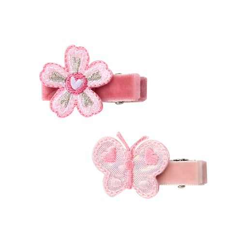 粉彩花園髮夾組