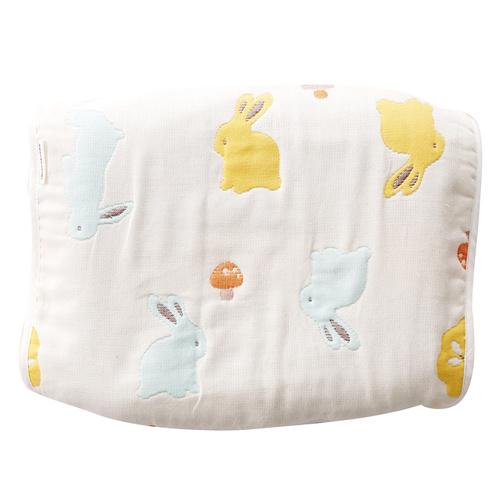 快樂森林六層紗小枕巾