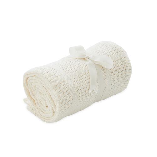 純棉洞洞毯(120x155cm)