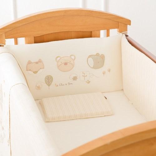 有機棉五件式寢具組(大床)