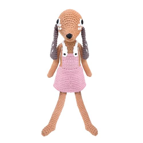 狗狗鉤針娃娃