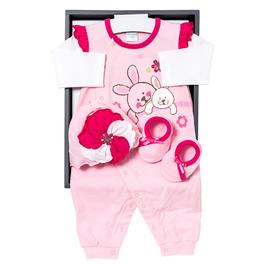 小兔印+繡兔裝禮盒