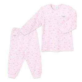 寶寶樂園側開套裝(三段天絲棉布)