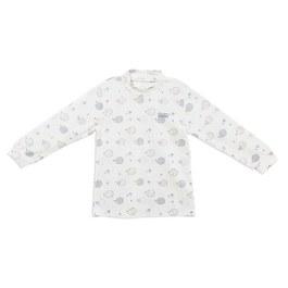 小刺蝟高領衫(羊毛保暖布)