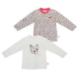 粉紅豹圓領衫-2入