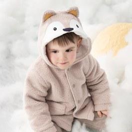 小狐狸舖棉外套