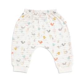 小松鼠飛鼠嬰兒褲(天絲棉)