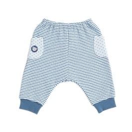 緹花包紗嬰兒長褲