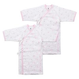 掌心系列長版肚衣式睡袍-2入(早產兒專用)