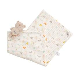 小松鼠多功能包巾禮盒(天絲棉)