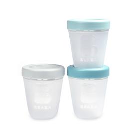 副食品儲存罐-矽膠200ml(三入組)