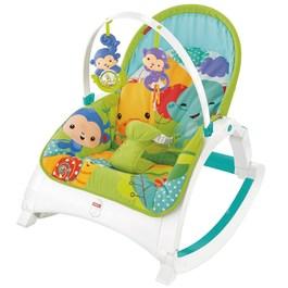 費雪可攜式兩用震動安撫躺椅