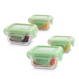 玻璃保鮮盒4入組