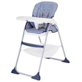 mimzy snacker 輕便高腳餐椅_丹寧條紋