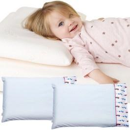 Cleva Foam® 護頭型幼童枕+枕套*2