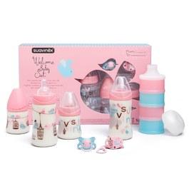 寶寶禮盒(奶瓶、奶粉盒、安撫奶嘴、掛鍊)