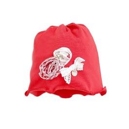 小草莓花瓣帽