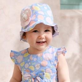 清秀比得女童帽-雙面帽