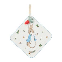 比得兔田園趣造型掛式手帕組