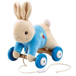 比得兔拖曳玩偶車